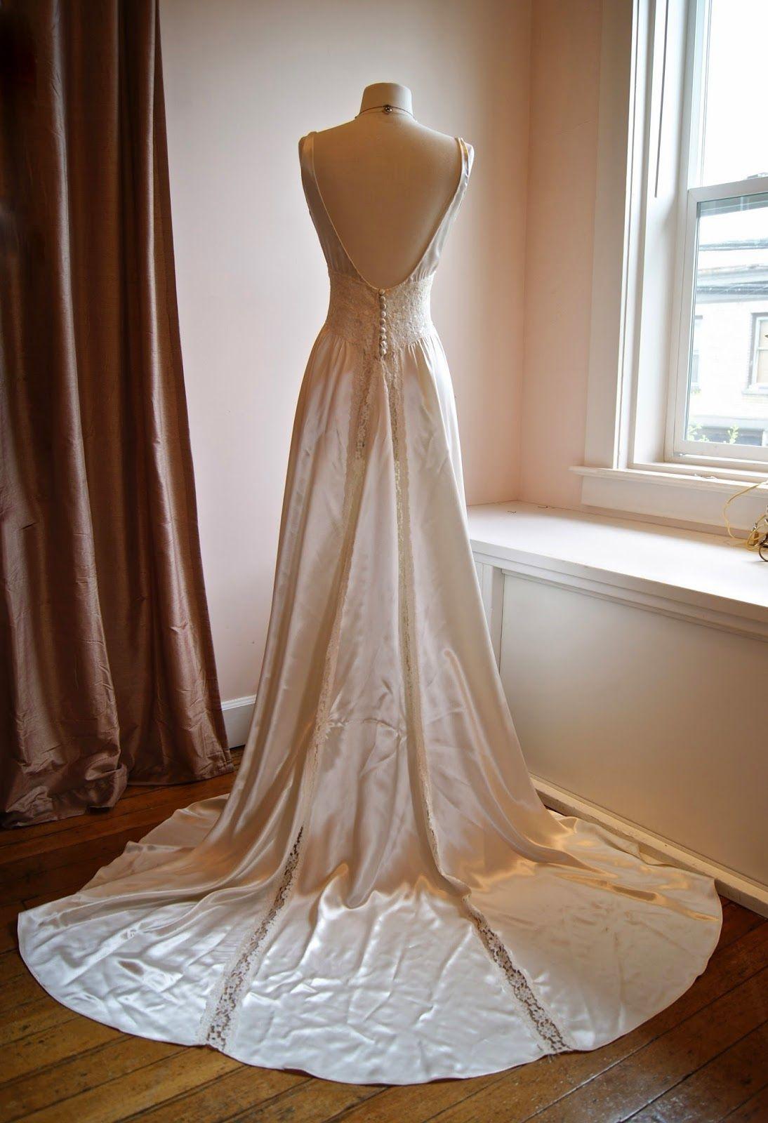 Vintage wedding dress xtabay vintage clothing boutique portland
