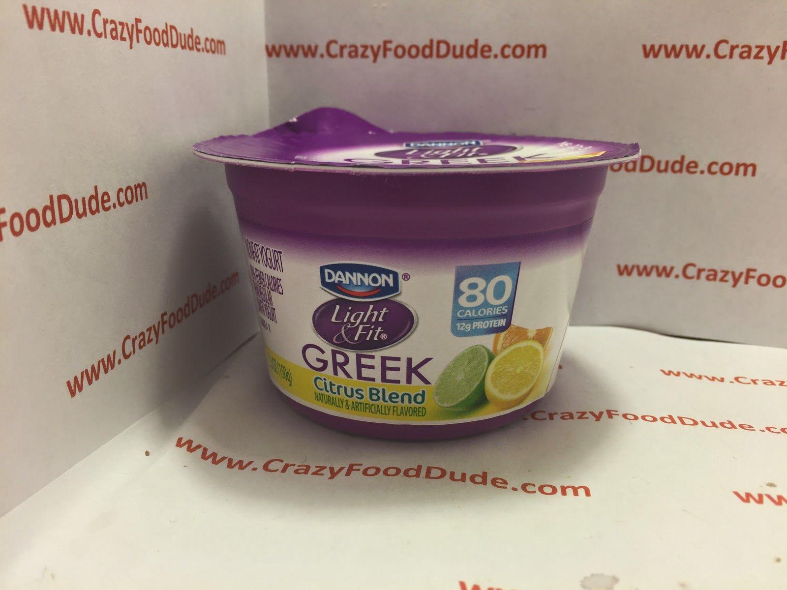 dannon light and fit yogurt nutrition