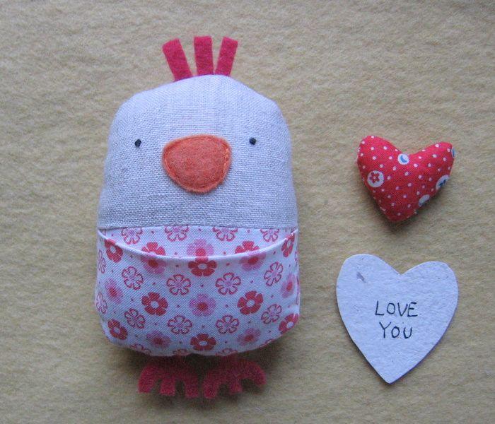 Hacer un pájaro del amor (bien un pollo, un pollo de amor)