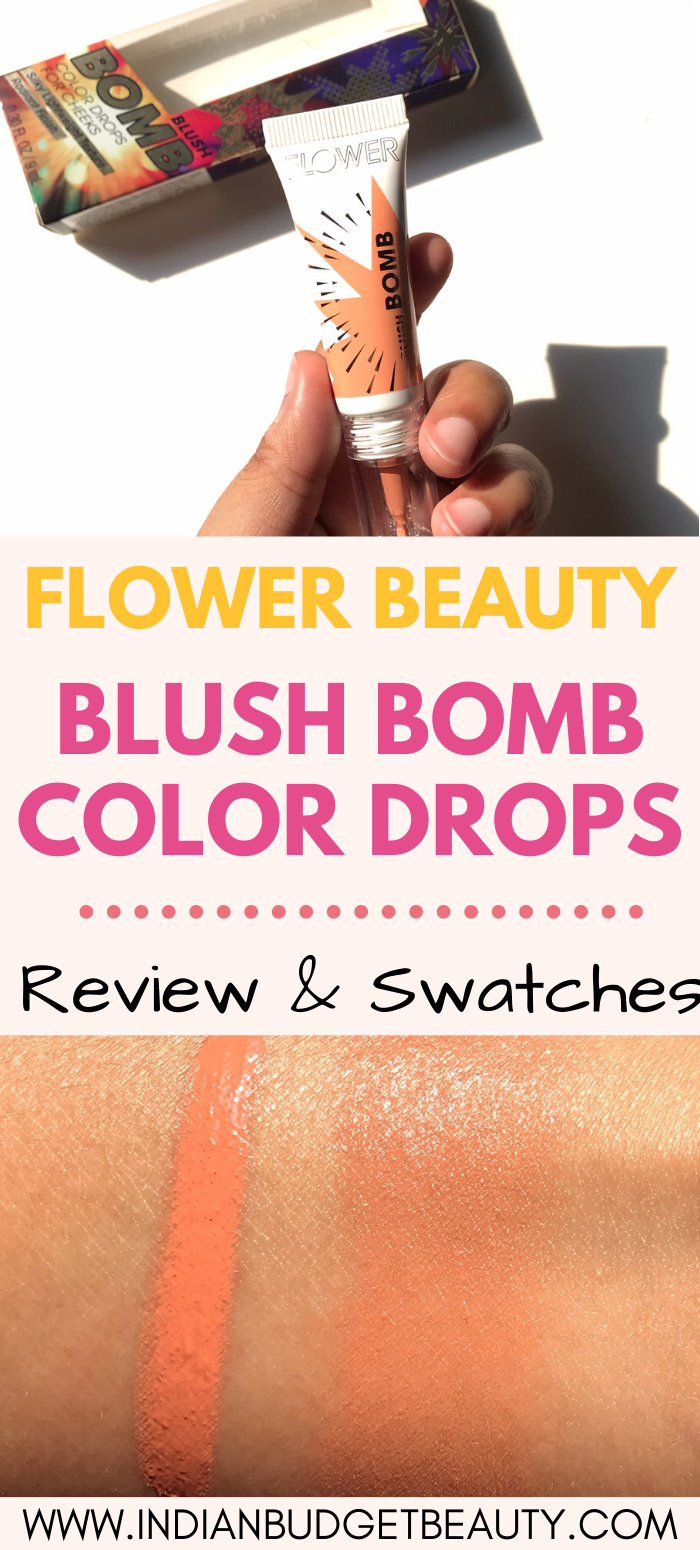 Flower Beauty Blush Bomb Swatches : flower, beauty, blush, swatches, Flower, Beauty, Blush, Color, Drops, Review, Glossier, Cloud, Paint, Beauty,, Maybelline, Superstay, Foundation,