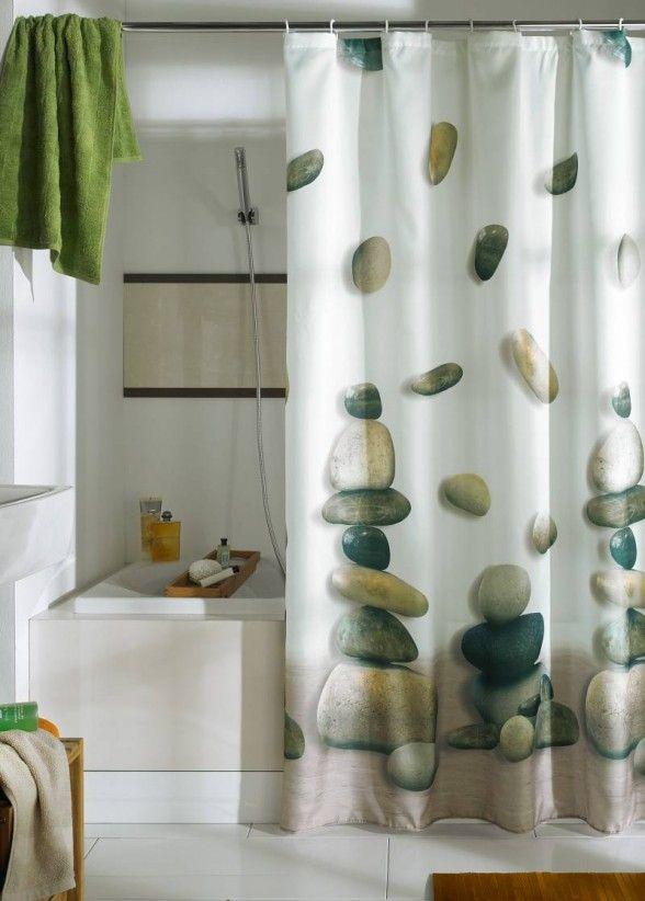 35 Gorgeous Bathroom Shower Curtain Ideas