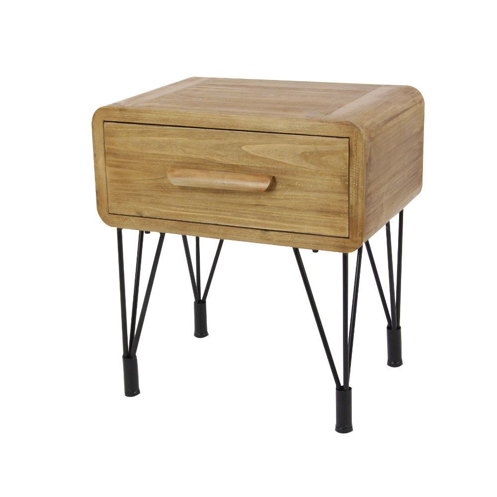 Retro drawer side table products