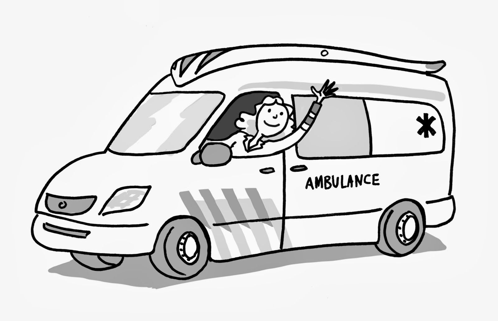 ambulance tekening zoeken thema dokter