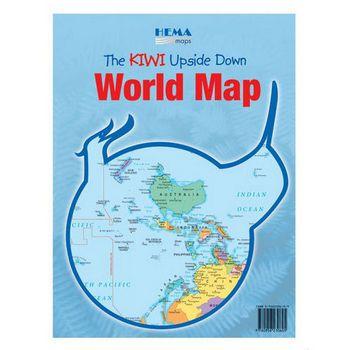 New Zealand Kiwi Upside Down Map New Zealand Pinterest New
