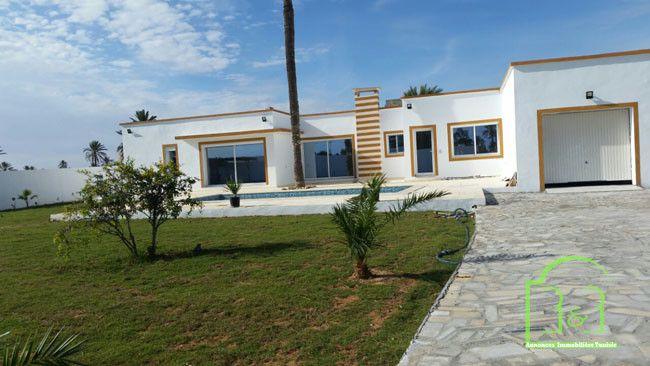 A Vendre A Djerba A Vendre Tres Belle Villa Neuve Plain Pieds