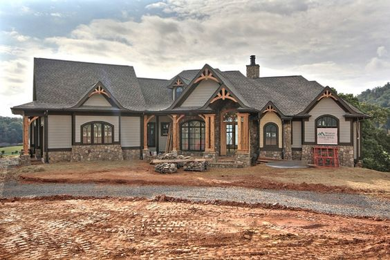 A beautiful home designed by garrell associates in the for Garrell and associates house plans