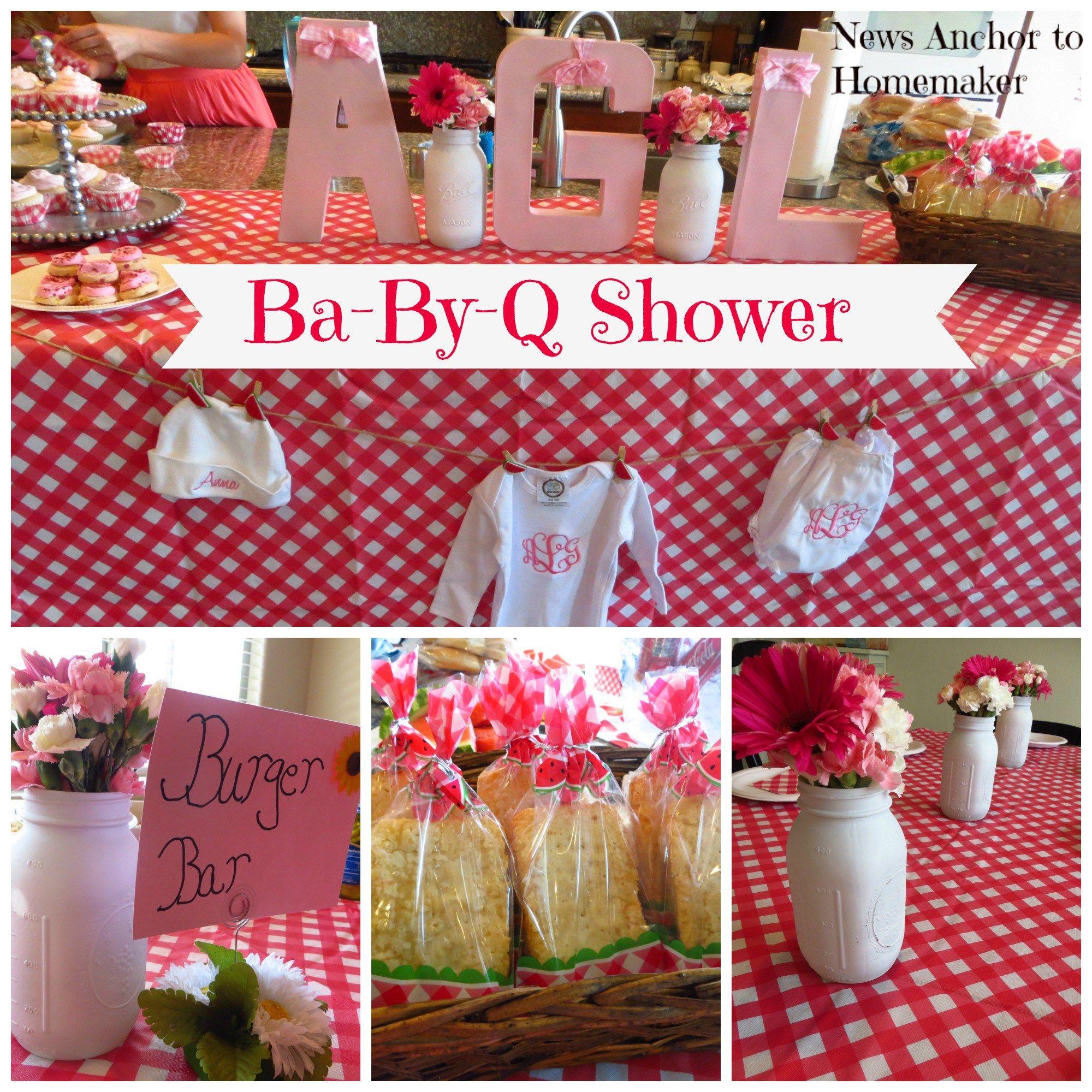 Ba By Q Shower On Newsanchortohomemaker Bbq Baby Shower