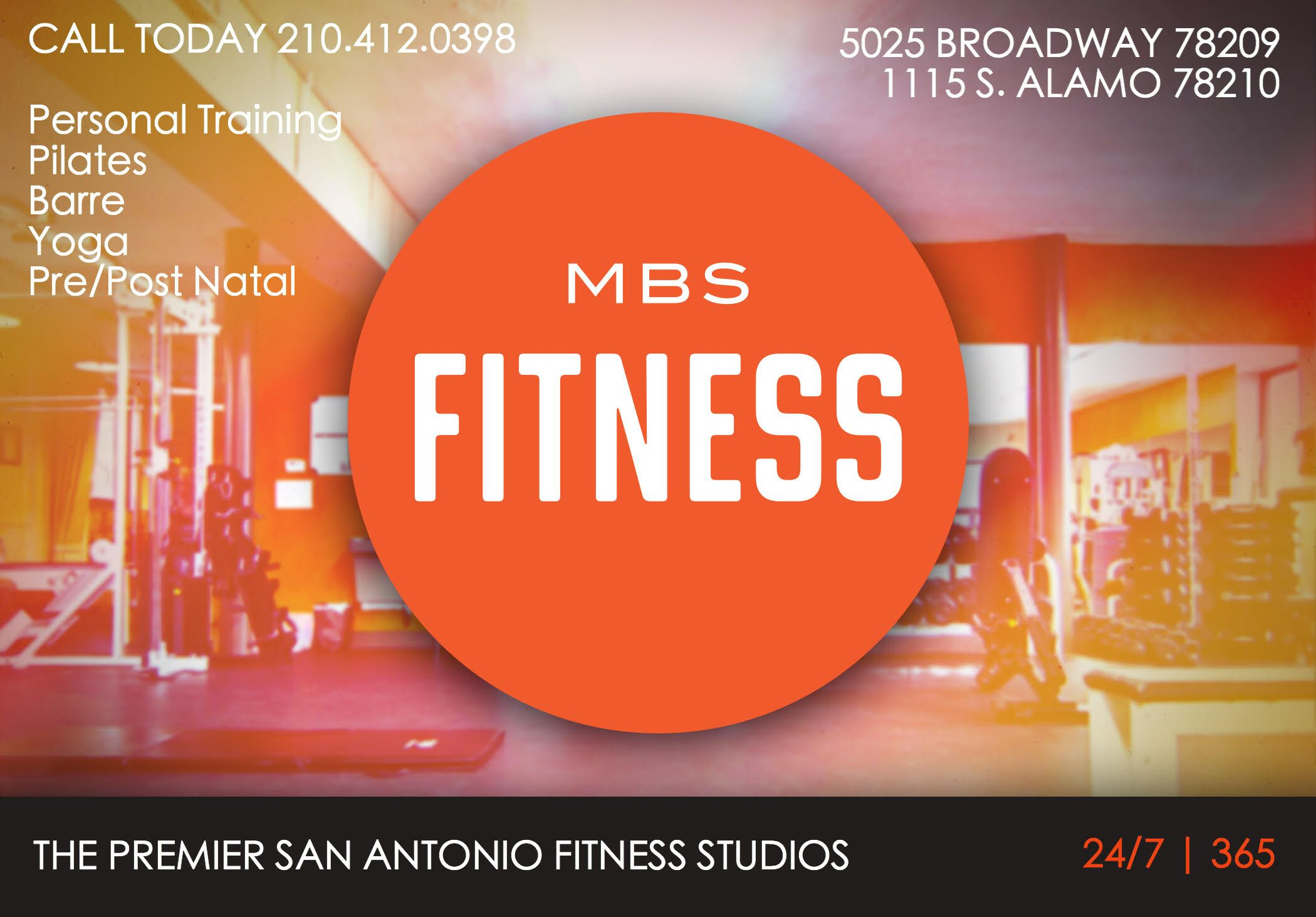 Both of our mbs fitness locations are accessible 24 hours