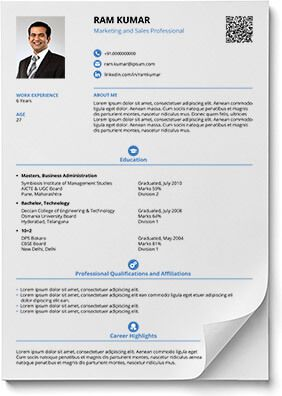 SmartAndBalancedResumeTemplate  Download    Resume