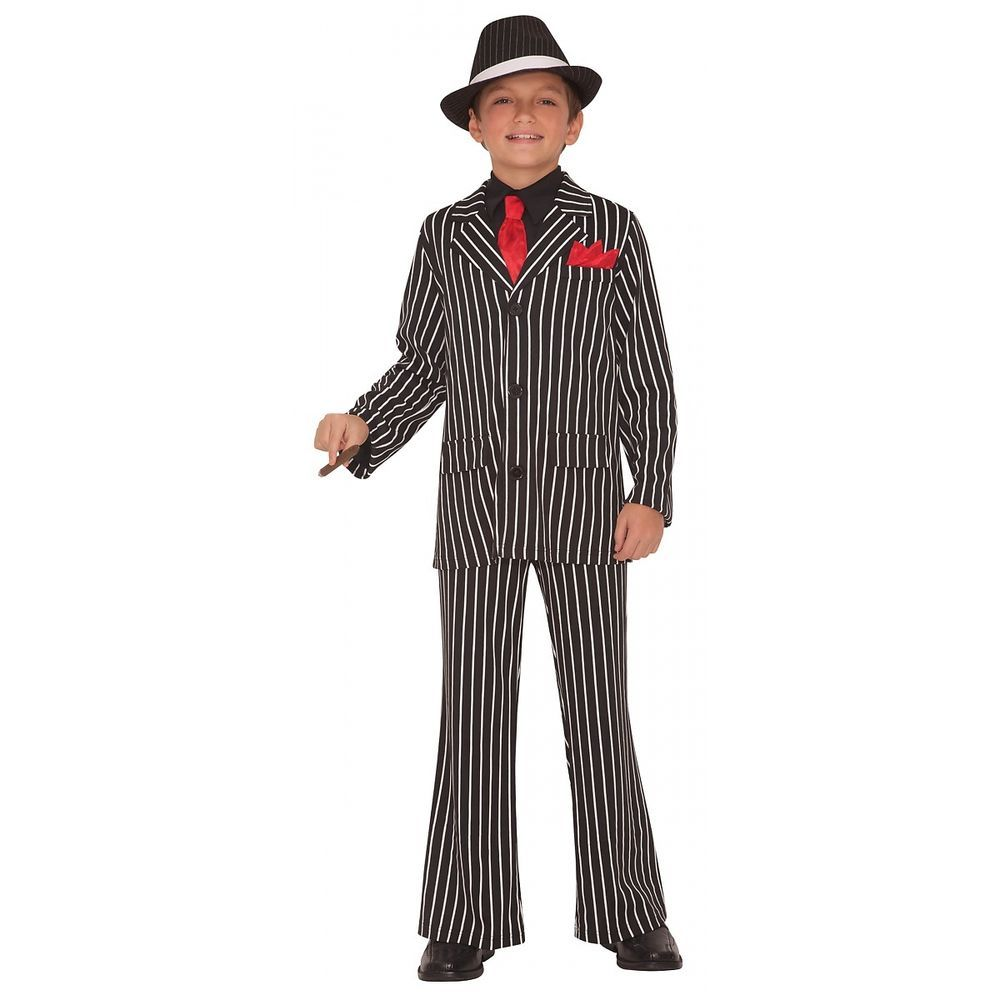 gangster costume kids roaring 20s halloween fancy dress - Halloween Mobster Costumes