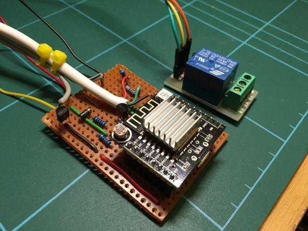 Using an Esp8266 Arduino to Control a Relay Using Home