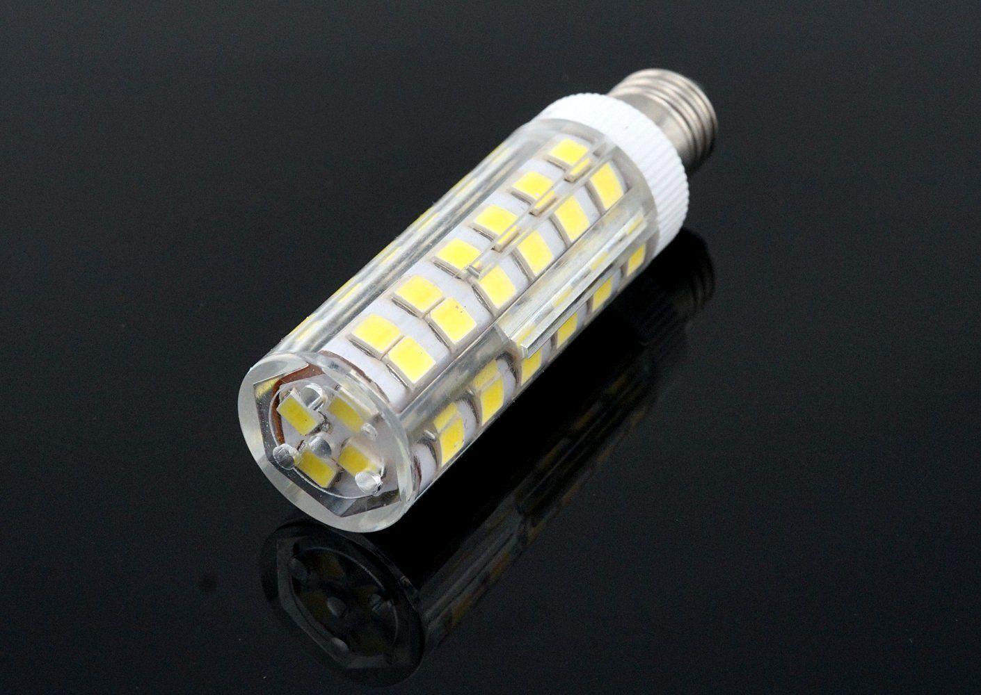 Bonlux 6w Dimmable E11 Led Light Bulb 45w Halogen Bulbs Equivalent Mini Candelabra Base Daylight 6000k T3 T4 Omni Directional For Ceiling Fan