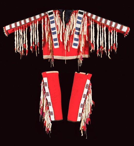 19th Century Shirt Amp Leggings Blackfeet Rare Native