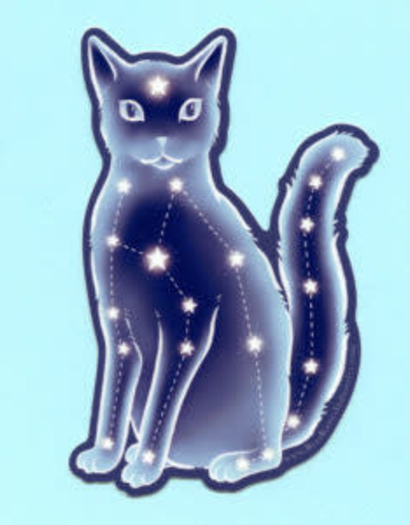 Sticker Celestial Cat Collage Collage In 2020 Cat Stickers Cat Collage Cat Design