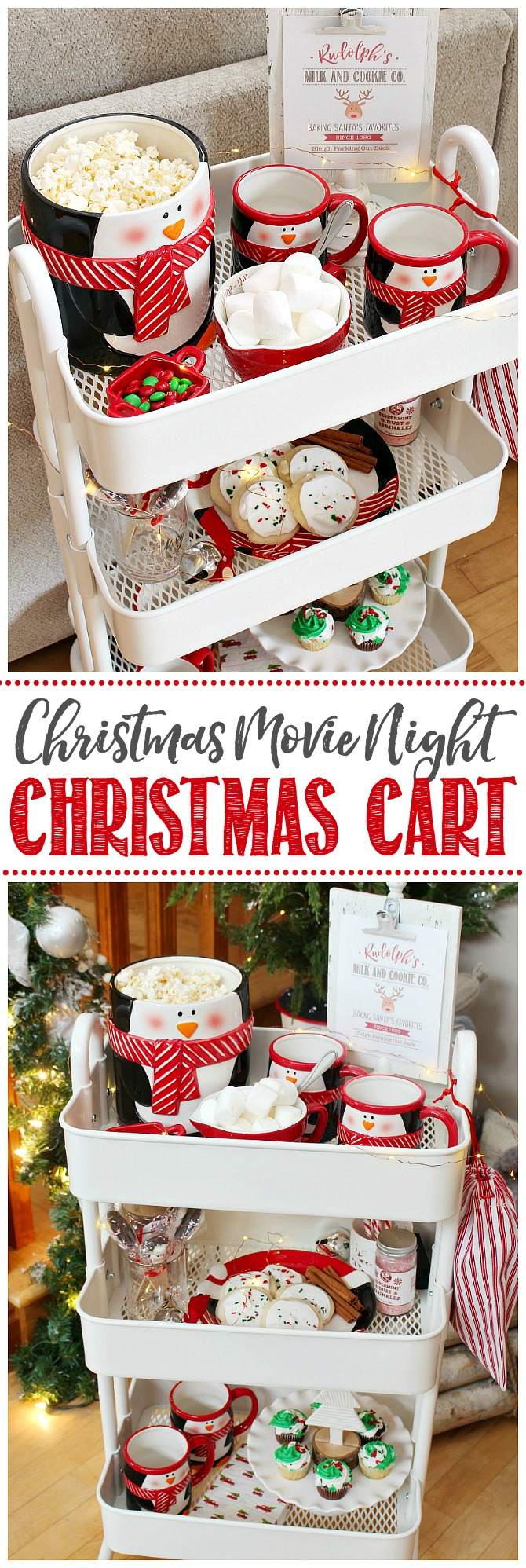 Photo of Christmas Movie Night Cart – Clean and Scentsible