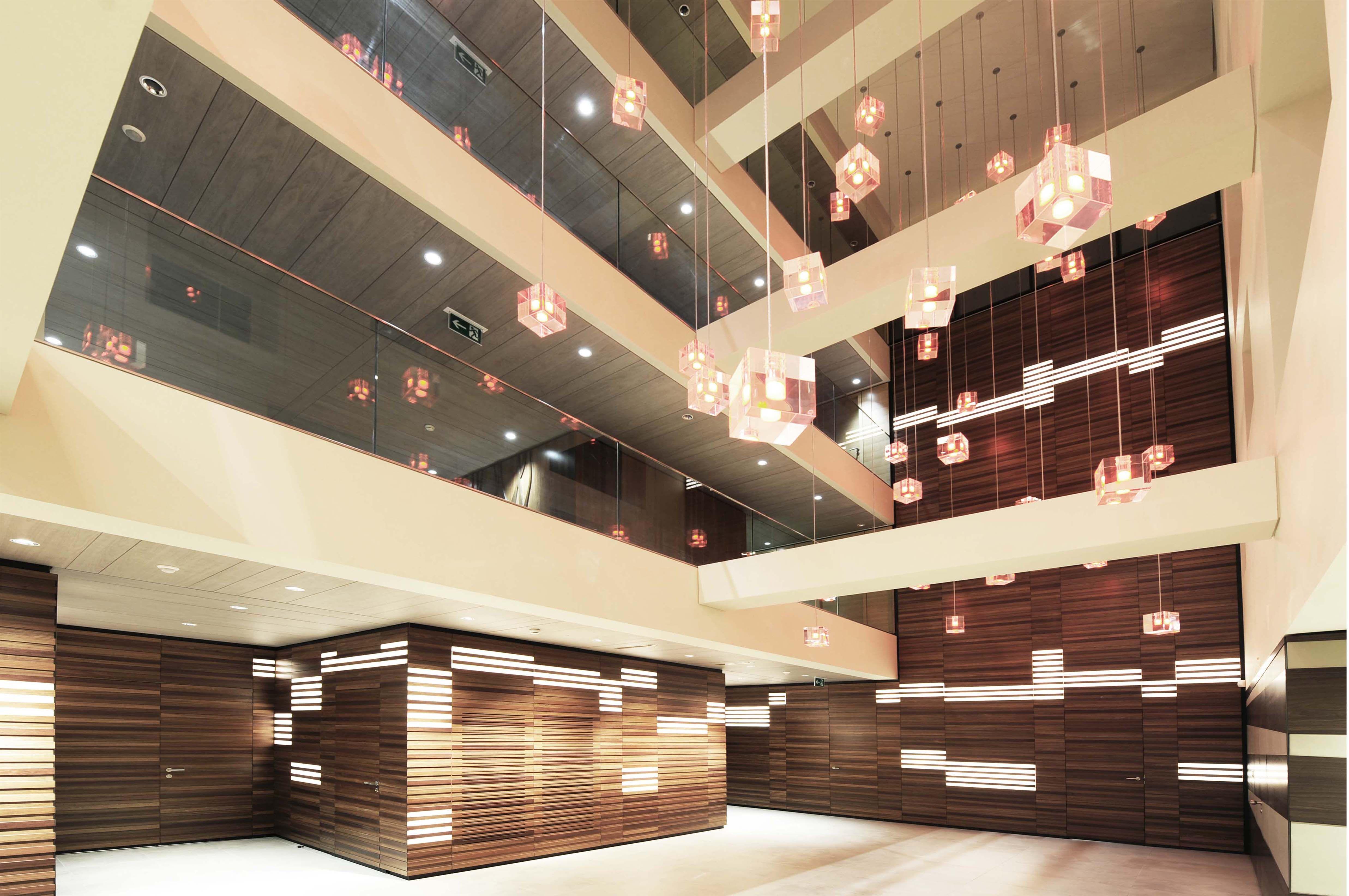 Corporate office design federation equstre internationale design