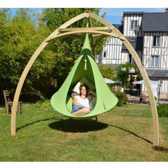 Tente Suspendue Cacoon Single Vert Hammock Swing Chair Cacoon Hammock Hammock Swing