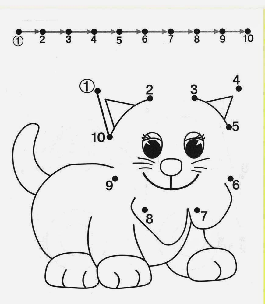 Kids Under 7 Free dot to dot worksheets for kids Part 2 – Dot to Dot Worksheets