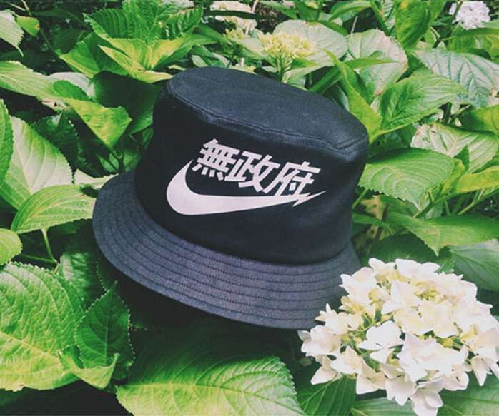 65af0778783 ... cheapest nike very rare air black bucket hat japanese chinese e1015  fd7fe