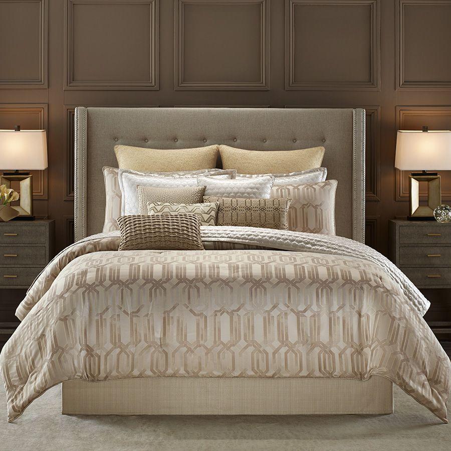 Candice Olson Interplay Comforter Set. #BeddingStyle #HGTV