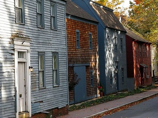 Strawberry Bank Portsmouth Old Houses Portsmouth Nh