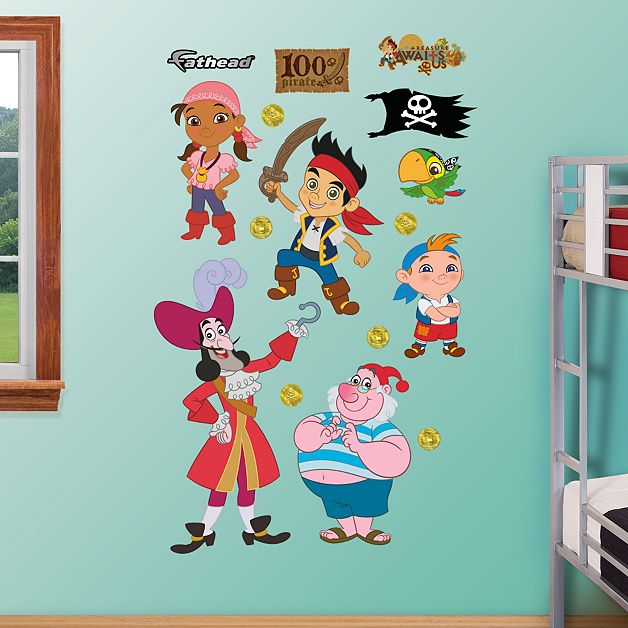 Disney Jake and the Neverland Pirates Collection | Wall decals ...