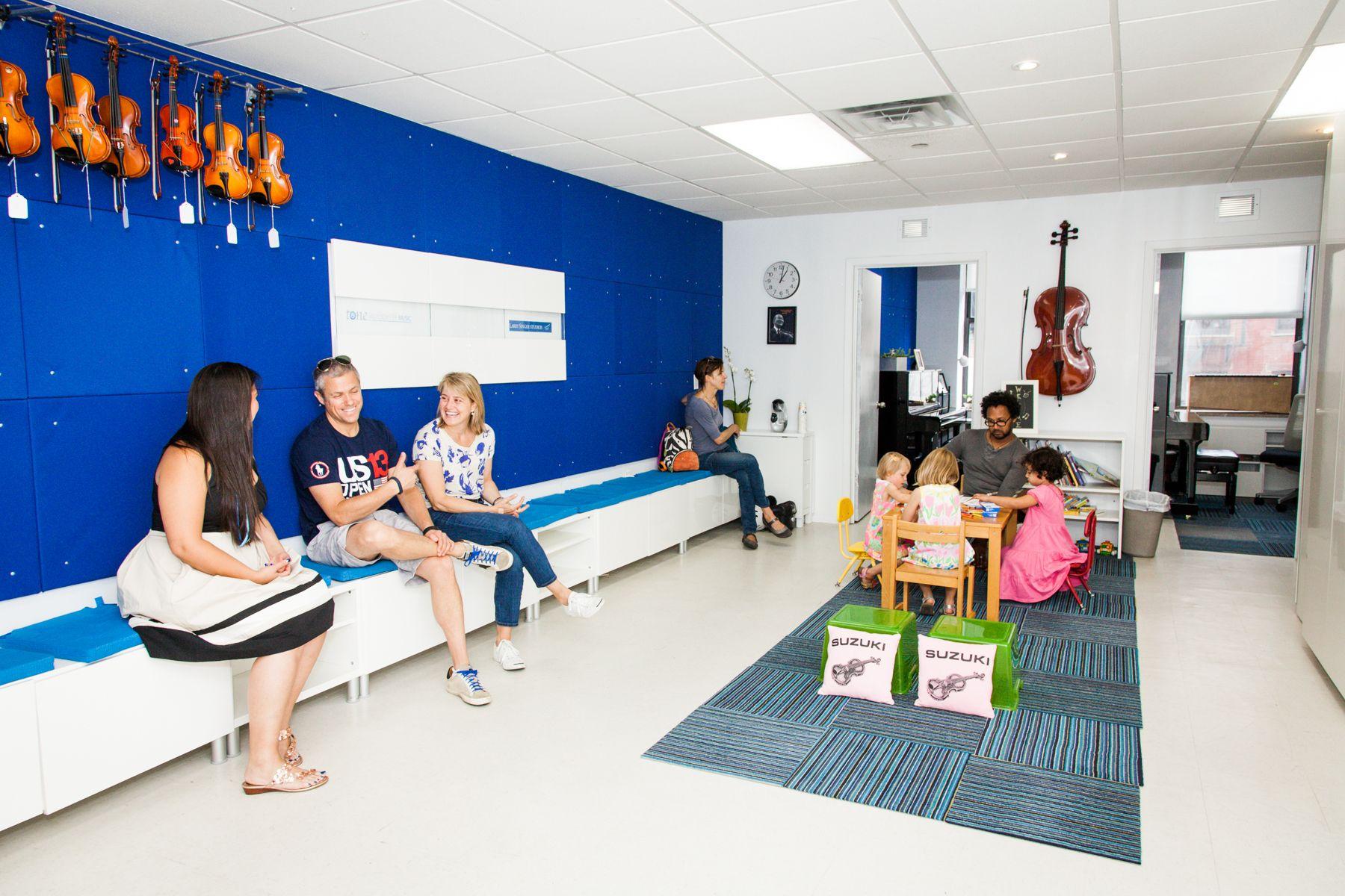 Music school sound proofing cello violin school organization organizing studio
