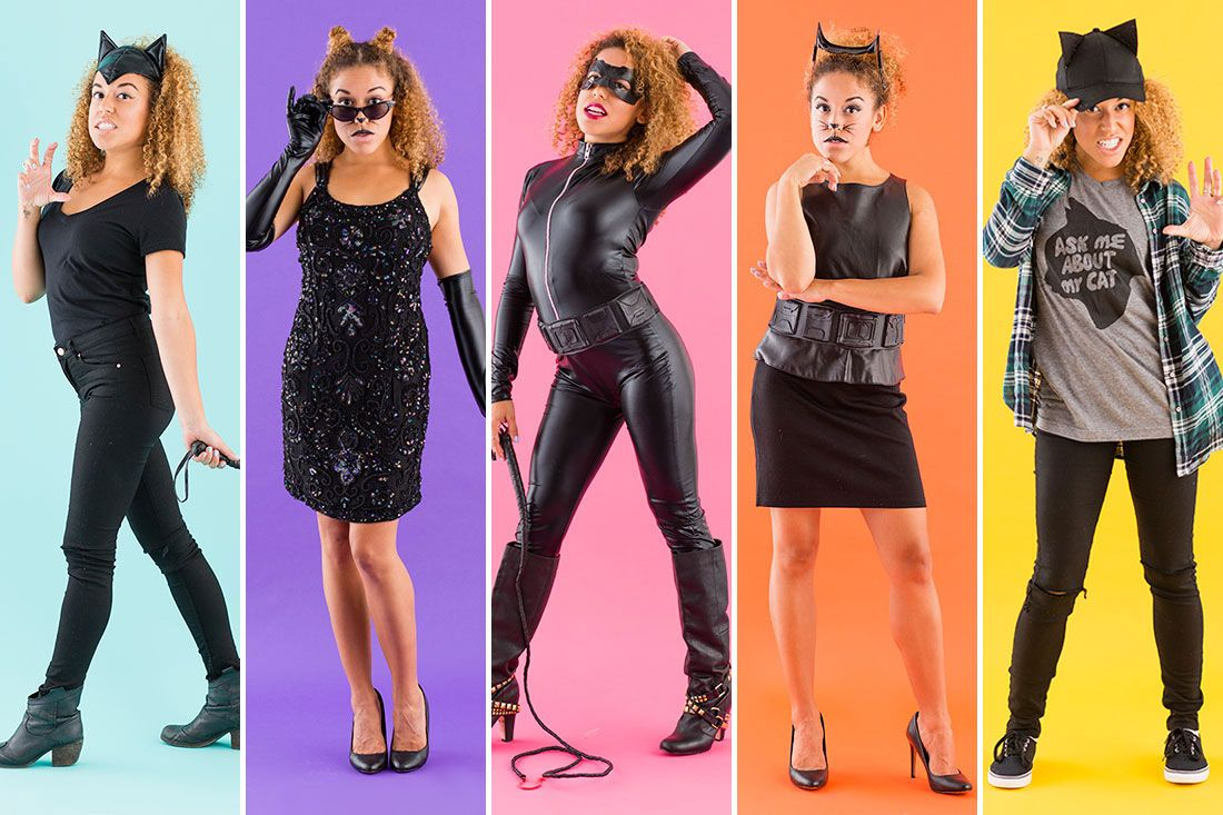 5 Easy Catwoman Costumes For Halloween Catwoman Halloween