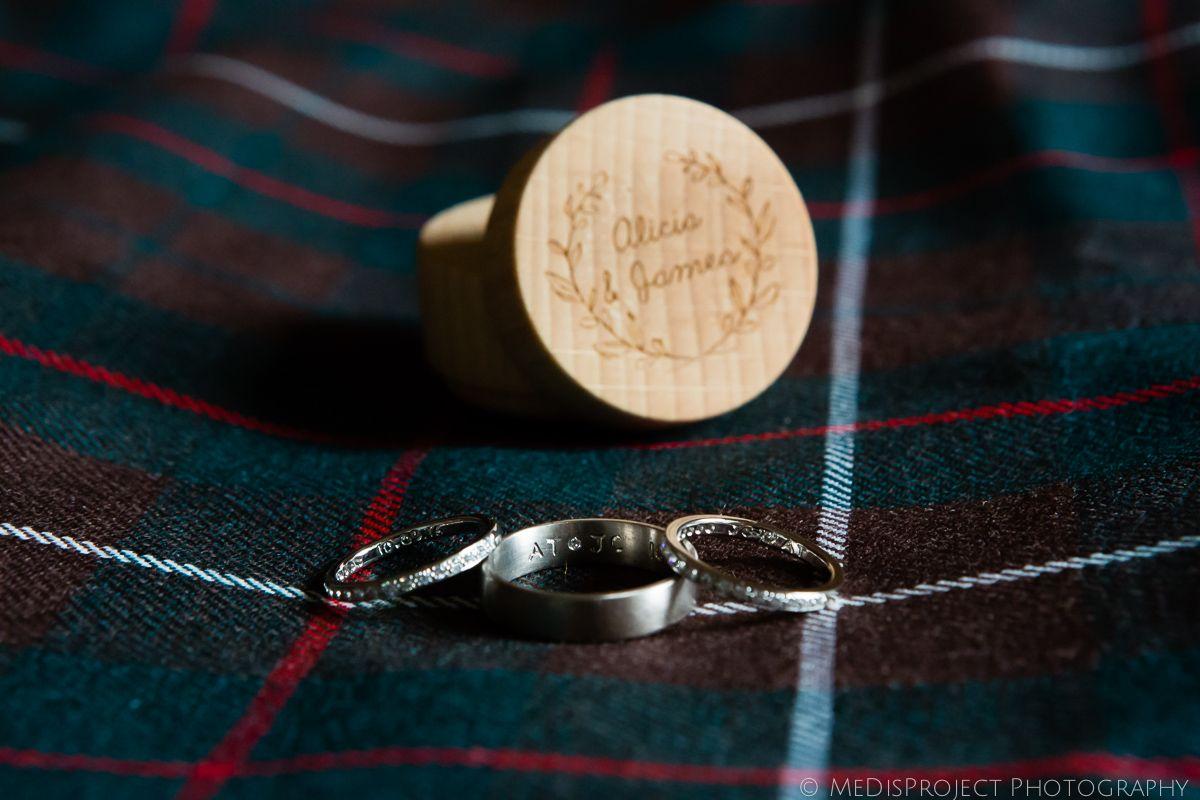 Borgo pignano wedding rings