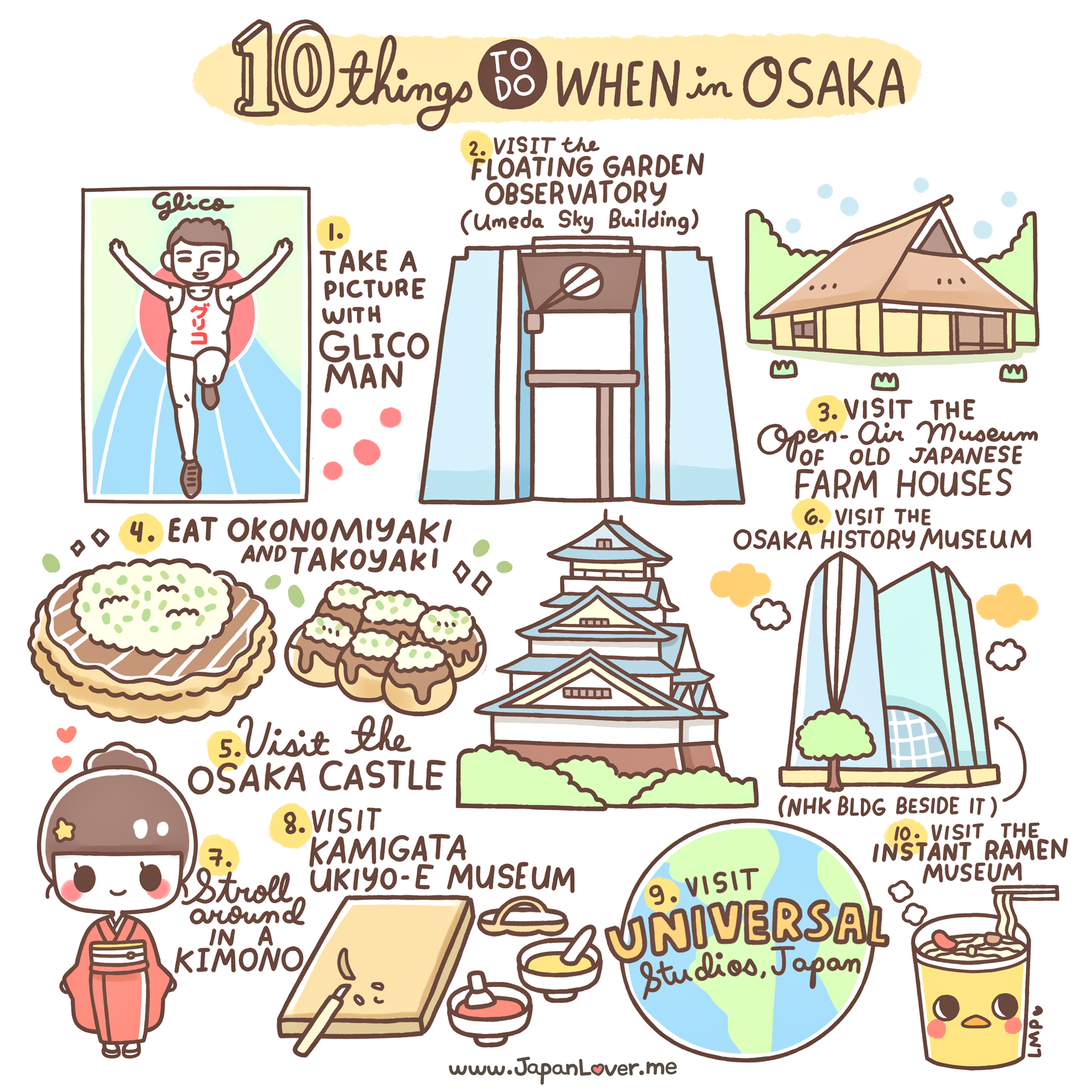 Image result for 10 things to do in osaka v1