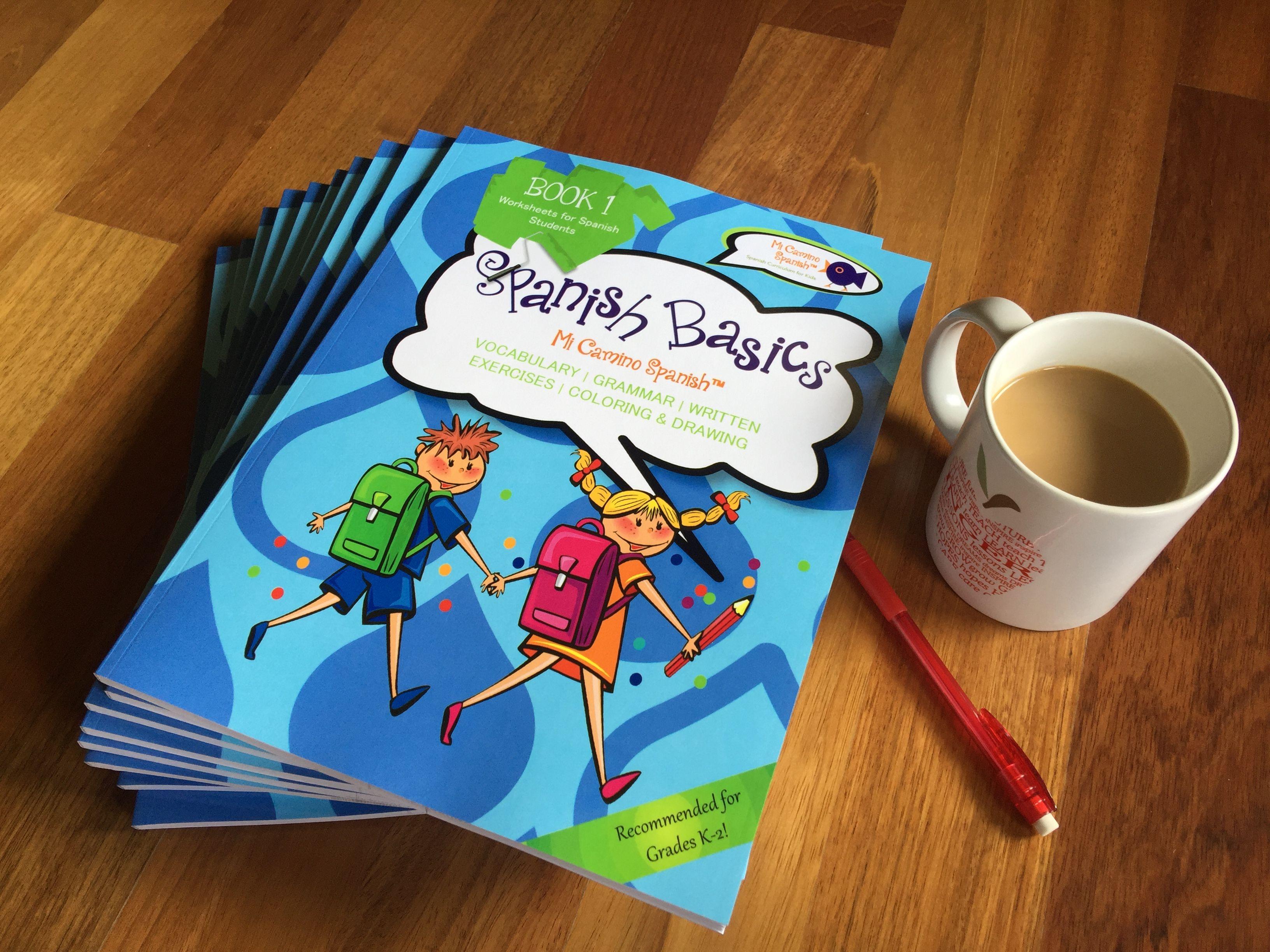 Image By Mi Camino Spanish On Spanish Basics Workbook K 2