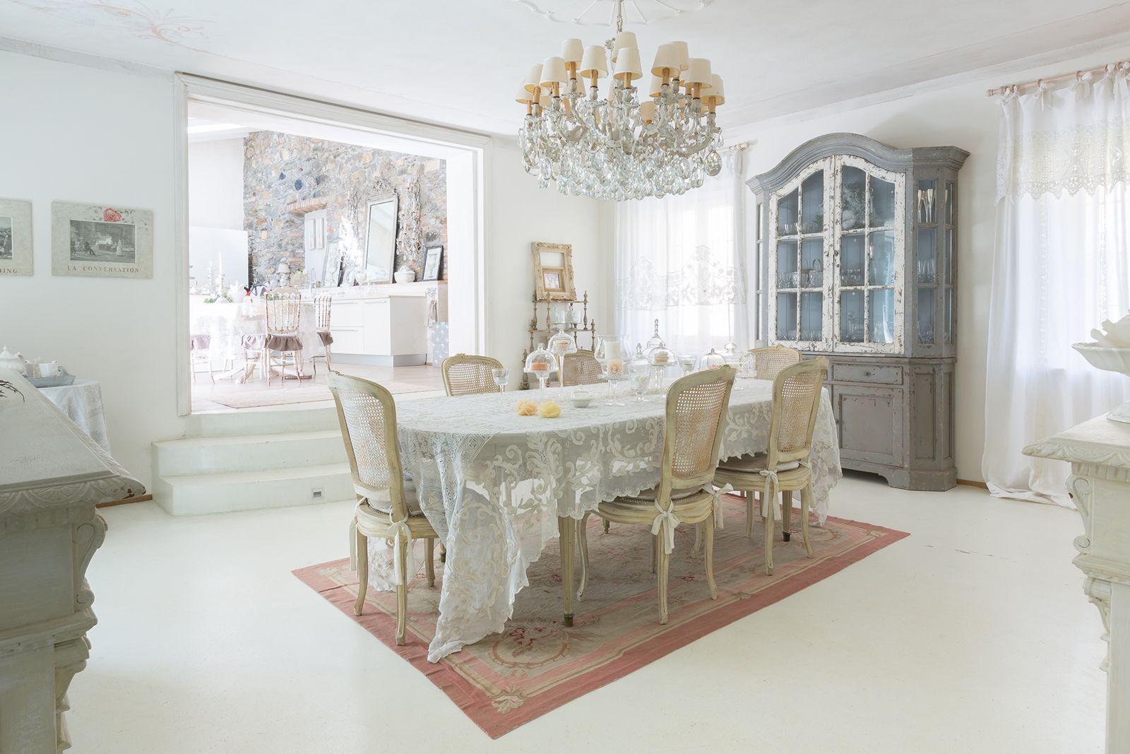Casa Shabby Shic Soggiorno in Legno in Stile Provenzale | Houses ...