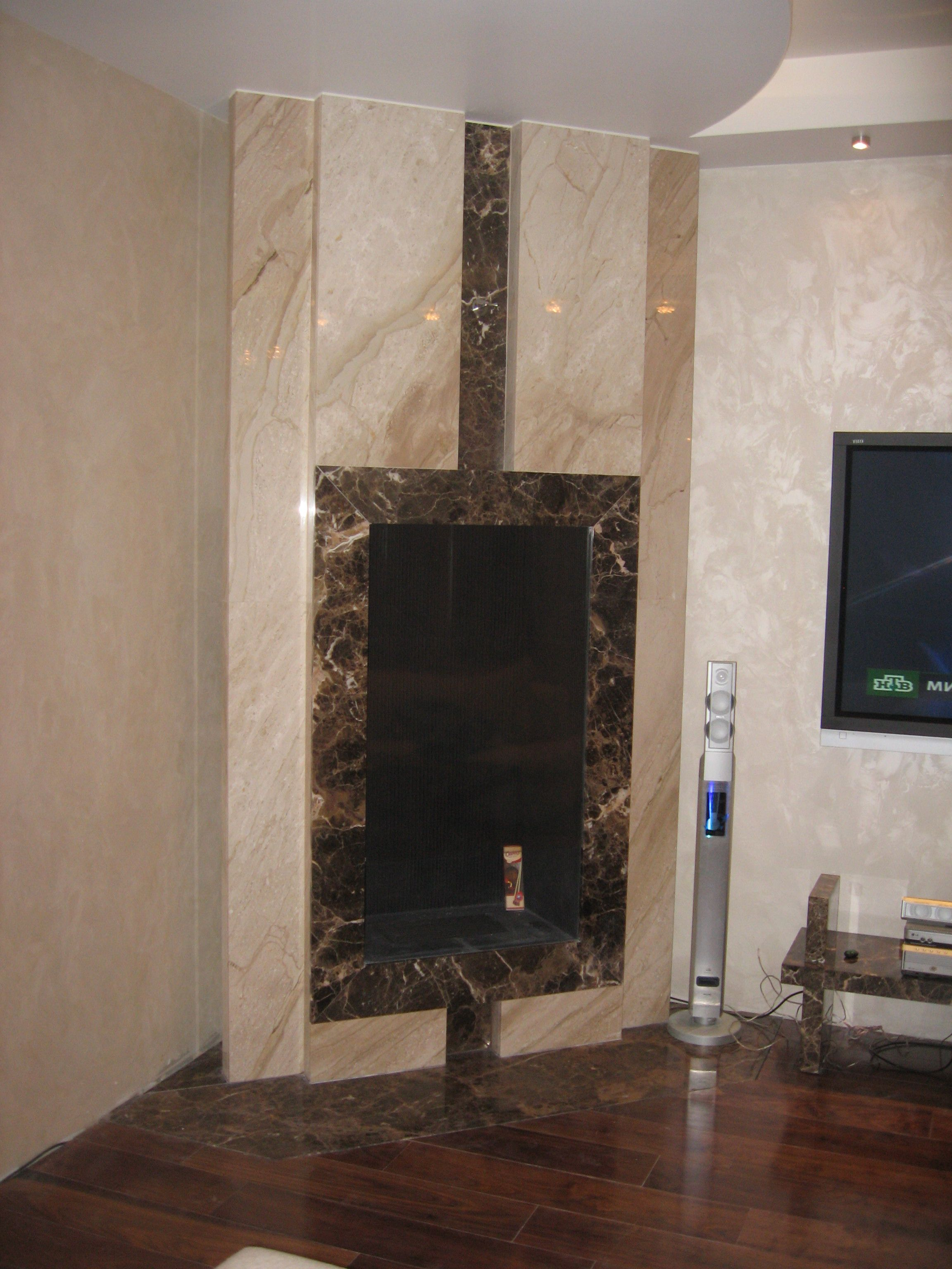 stone fireplace with an insert virtu vk we re working on your