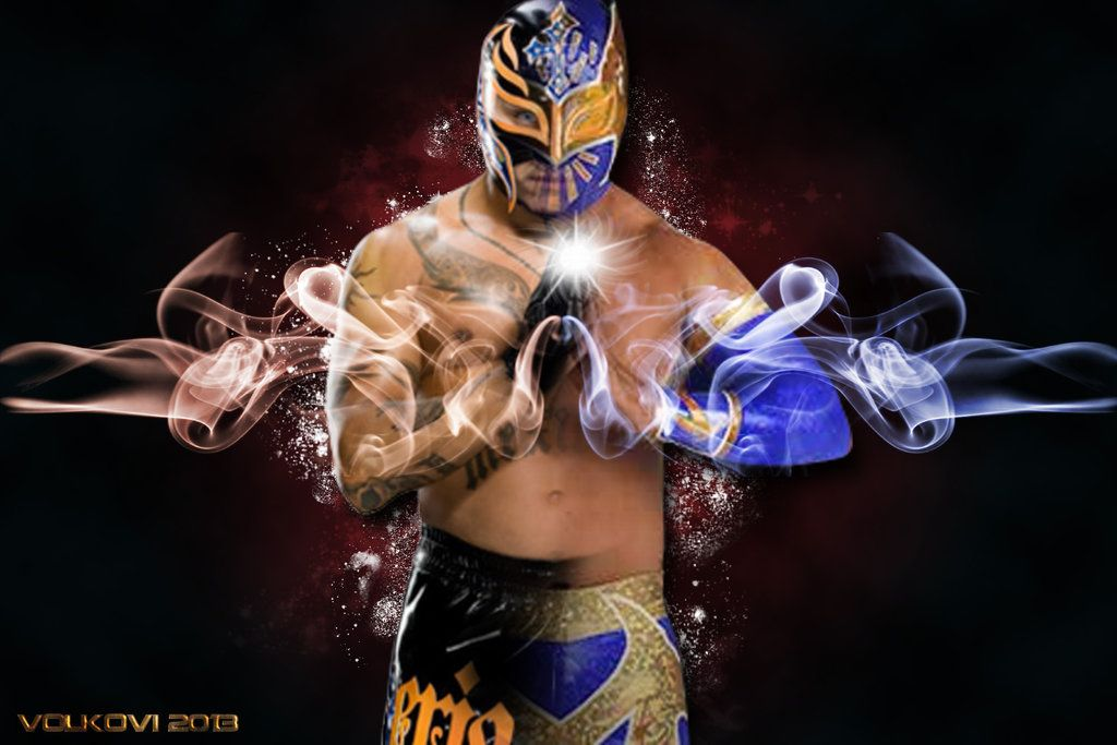 WWE Rey Mysterio And Sin Cara