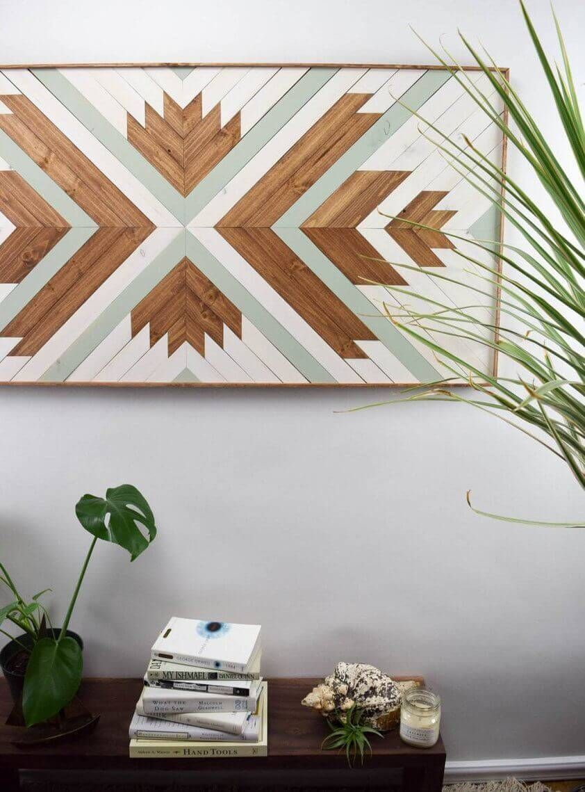 27 Of The Best Wood Quilt Wall Art Wood Wall Art Ideas Wooden