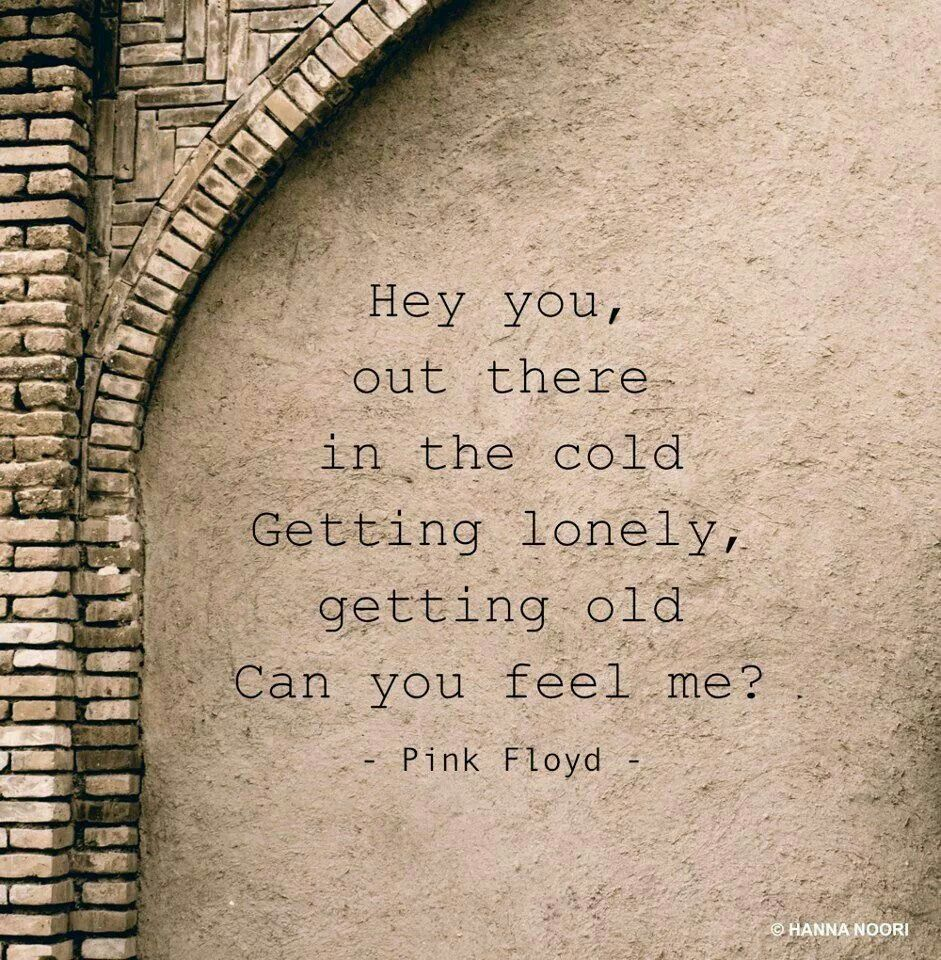 Anybody Out There Pink Floyd Lyrics