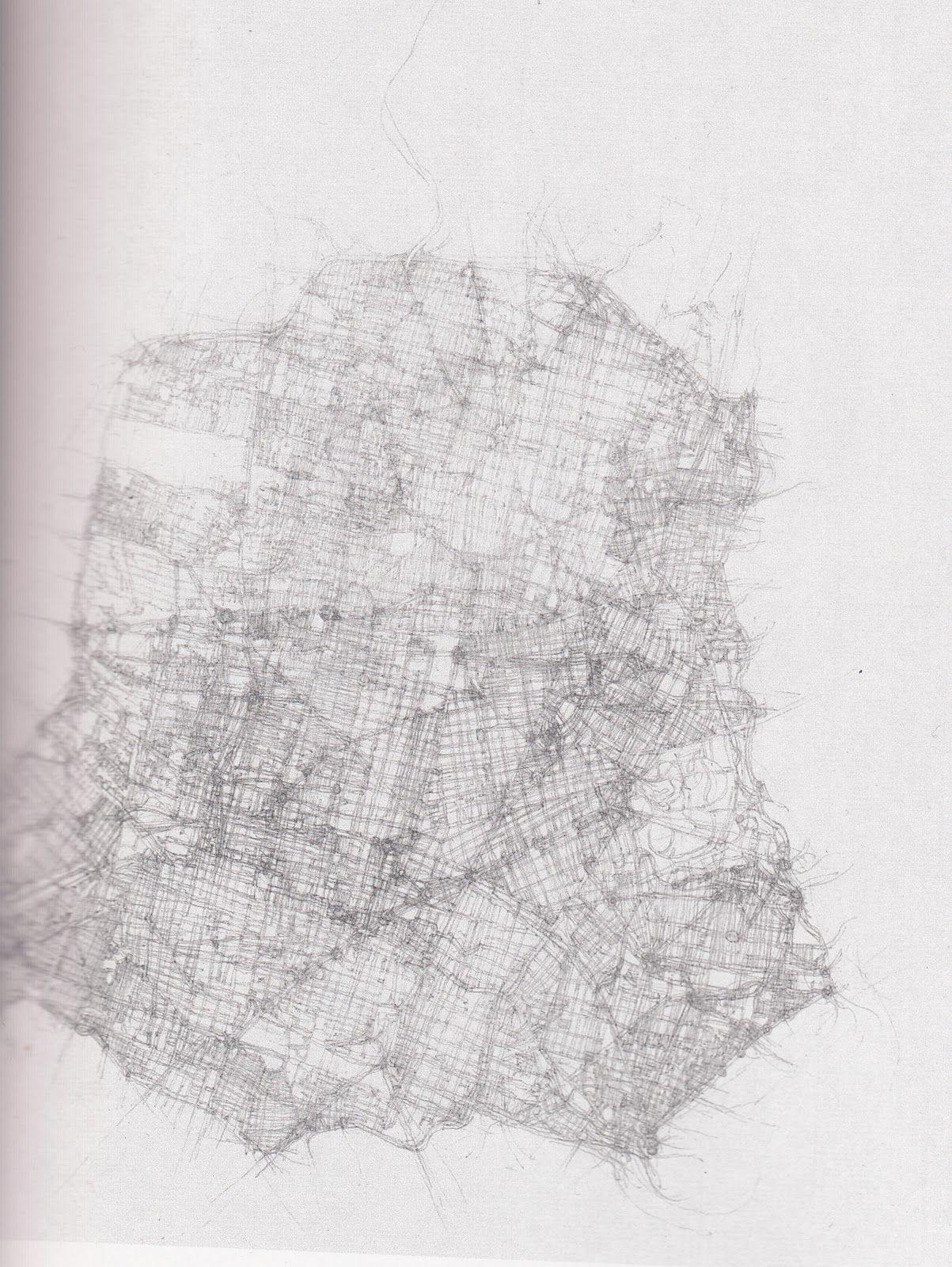 City Drawings by Kathy Prendergast