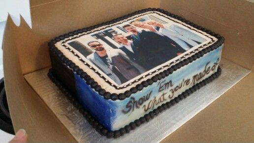 Backstreet Boys Cake Made For My Best Friend