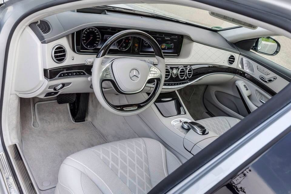 Beautiful Interior Of The New Mercedes Benz S550 Plug In Hybrid