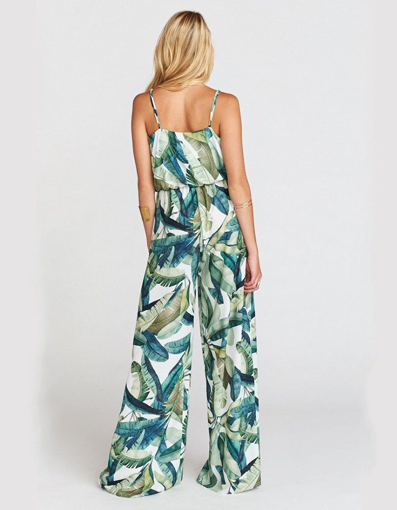 5aee45c251 Show Me Your Mumu The Jagger Jumpsuit in Banana Leaf