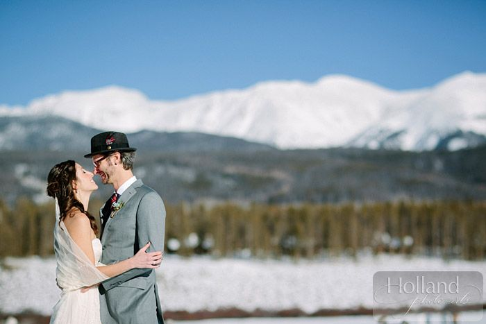Annie & Adam's wedding at Devil's Thumb Ranch by Holland Photo Arts - Featured in The Knot Colorado