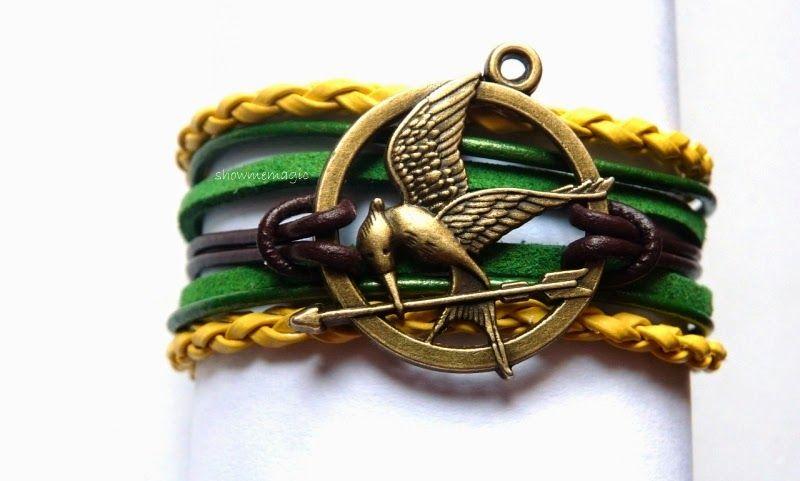 Hunger Games- Mockingjay bracelet.
