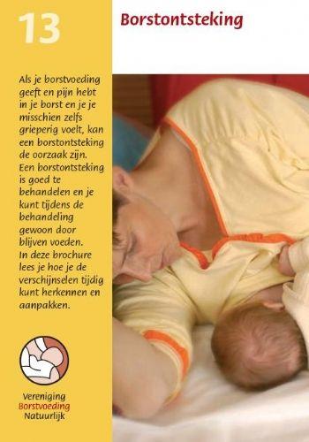 Vbn Borstvoeding Borstontsteking Brochure Informatie Te