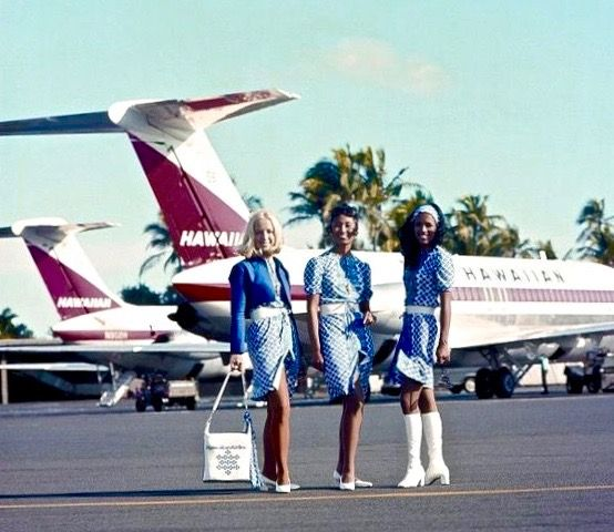 Hawaiian Airlines Flight Attendants And Dc9s Hawaiian Airlines