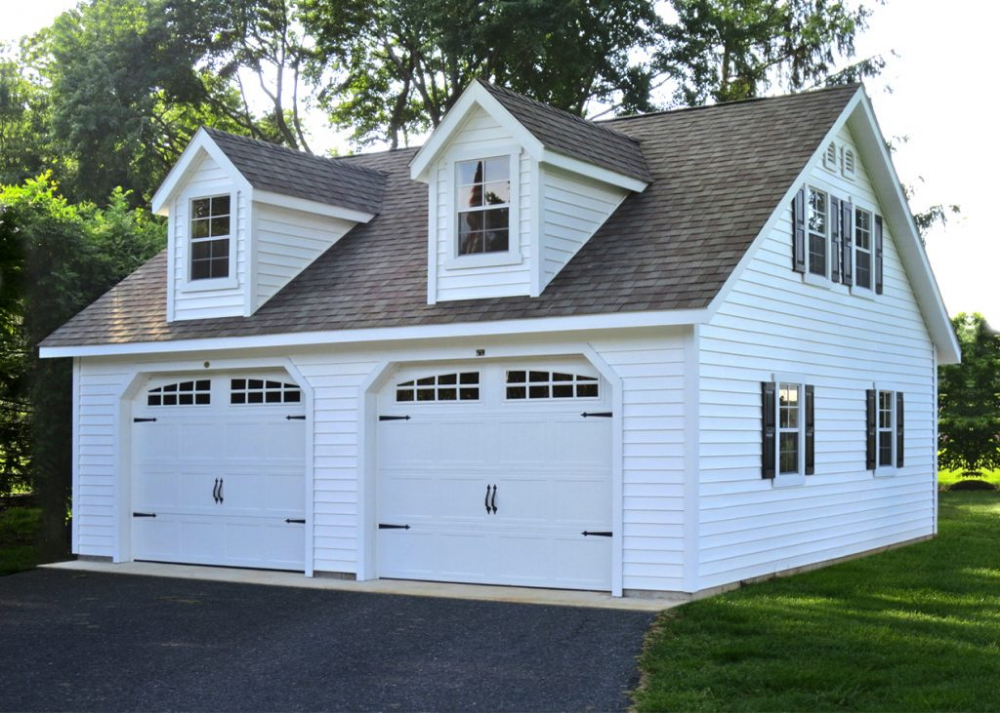 Story Garage Design Two Car, How Much Is A 2 Car Detached Garage
