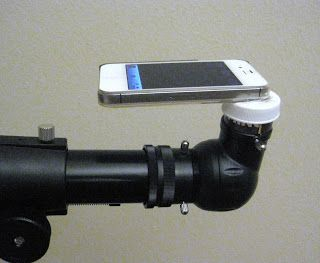 Telescope Skywatch Iphone Telescope Adapter Smartphone Mount
