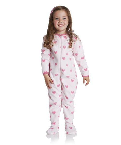 9ea63cb2f Mothercare Pijama manta corazones rosa - Pijamas niño y niña (1