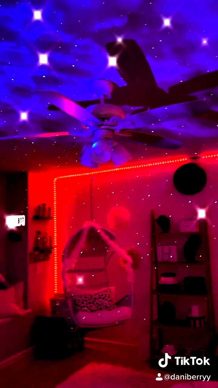 Tiktok Bedroom Room Inspiration Bedroom Neon Bedroom Neon Room