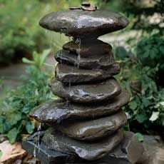 How To Build A River Rock Fountain   You Can Use Just About Any Outdoor  Garden Structure For A Fountain, But You Canu0027t Beat The Organic Beauty And  ...