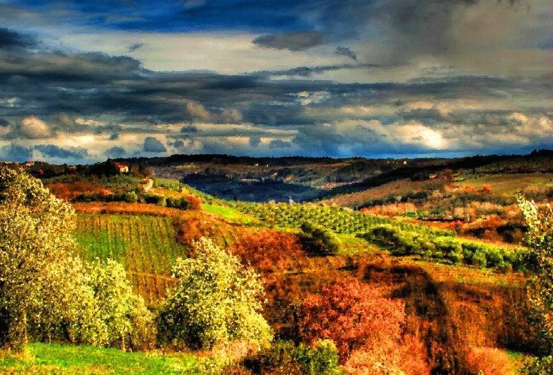 Tuscan Tuscan Landscape Tuscany Landscape Landscape Painting Landscape Oil Oil Painting Landscape Oil Painting Abstract Oil Painting For Sale